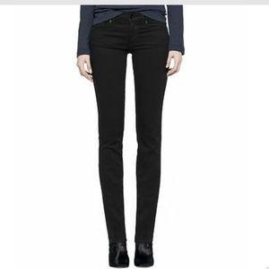 Tory Burch super skinny stretch black jeans